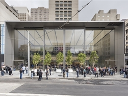 Apple Union Square opent metershoge deuren