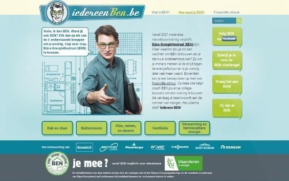 Website biedt kandidaat-bouwers tips aan om energiezuinig te bouwen