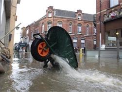 Helft minder bouwpercelen in overstromingsgebied