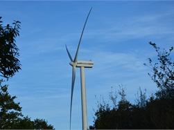Windturbine in de buurt weegt op verkoopprijs woning