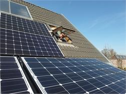 Zonnepanelen op helft van nieuwbouw in Vlaanderen